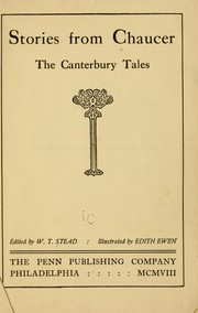 Cover of: Stories form Chaucer: the Canterbury tales