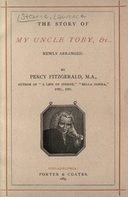 Cover of: The story of my Uncle Toby, &c