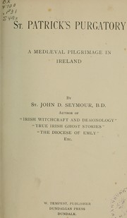 Cover of: St. Patrick's purgatory