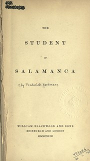 Cover of: The student of Salamanca