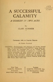 Cover of: A successful calamity | Clare Beecher Kummer