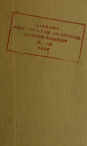Cover of: Summary of revenue bill of 1962 as it passed the House (H.R. 10650)