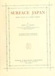 Cover of: Surface Japan