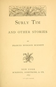 Cover of: Surly Tim and other stories