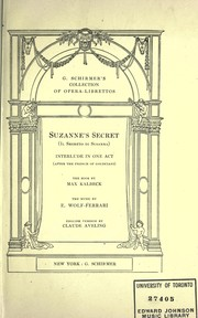 Cover of: Suzanne's secret