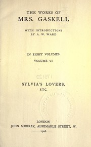 Cover of: Sylvia's lovers, etc