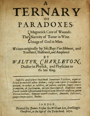 Cover of: A ternary of paradoxes