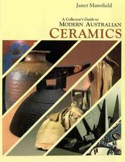 Cover of: A collector's guide to modern Australian ceramics