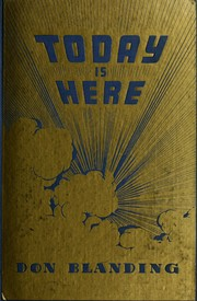 Cover of: Today is here. | Don Blanding