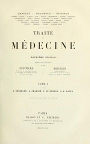 Cover of: Traité de médecine