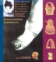 Cover of: Encyclopaedia Acephalica