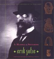 Cover of: A Mammal's Notebook by Erik Satie
