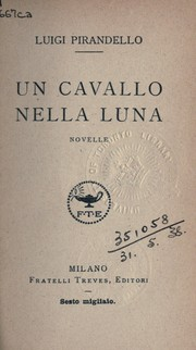 Cover of: Un cavallo nella luna: novelle