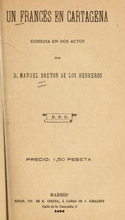 Cover of: Un francés en Cartagena