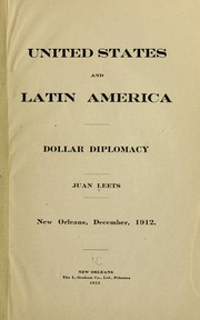 United States and Latin America by Juan Leets