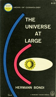 Cover of: The universe at large. by Bondi, Hermann Sir