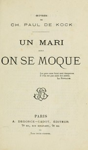 Cover of: Un mari dont on se moque