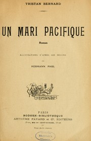 Cover of: Un mari pacifique