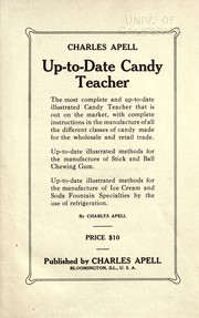 Cover of: Up-to-date candy teacher | Charles Apell