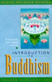 Cover of: Introduction to Buddhism
