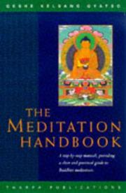 Cover of: A Meditation Handbook