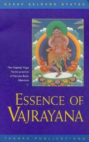 Cover of: Essence of Vajrayana
