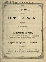 Cover of: Views of Ottawa |