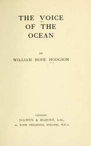 Cover of: The voice of the ocean