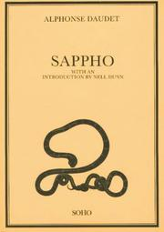 Cover of: Sapho