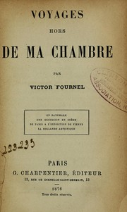 Cover of: Voyages hors de ma chambre