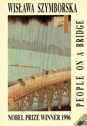 Cover of: People on a bridge