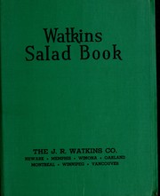 Cover of: Watkins salad book | Elaine Allen