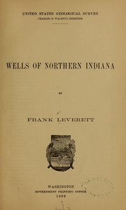 Cover of: Wells of northern Indiana