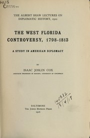 Cover of: The West Florida Controversy