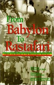 Cover of: From Babylon to Rastafari