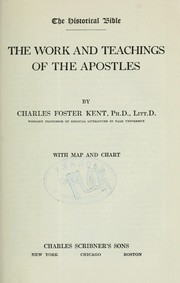 Cover of: The work and teachings of the apostles