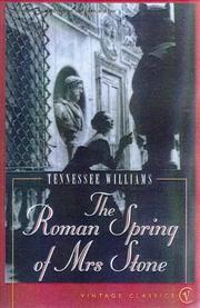 Cover of: The Roman Spring of Mrs.Stone