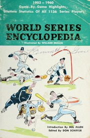 Cover of: World series encyclopedia. | Don Schiffer