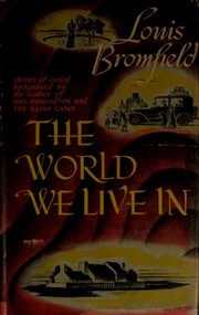 Cover of: The world we live in: stories