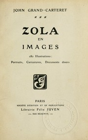Cover of: Zola en images