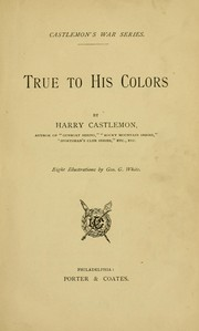 Cover of: True to his colors