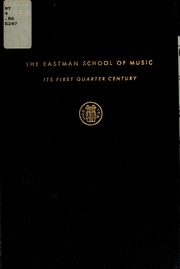 Cover of: The Eastman School of Music | Charles Riker