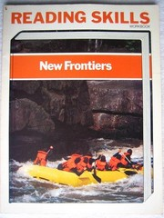 Cover of: New frontiers (HBJ bookmark reading program, Eagle edition)