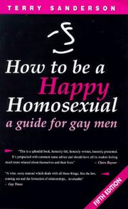 How to be a happy homosexual by Terry Sanderson