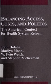 Balancing access, costs, and politics by