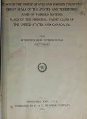 Cover of: Flags of the United States and foreign countries