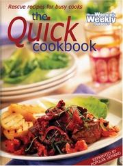 Cover of: Aww Quick Cookbook