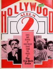 Cover of: Hollywood album | edited by Arleen Keylin and Suri Fleischer.