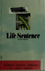 Cover of: Life sentence