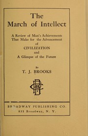 Cover of: The march of intellect